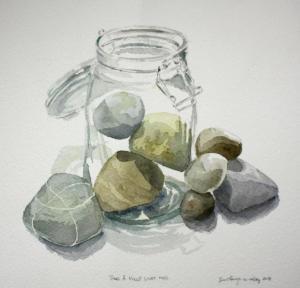 Stein i glass